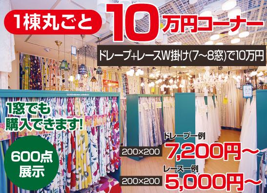 1棟丸ごと10万円